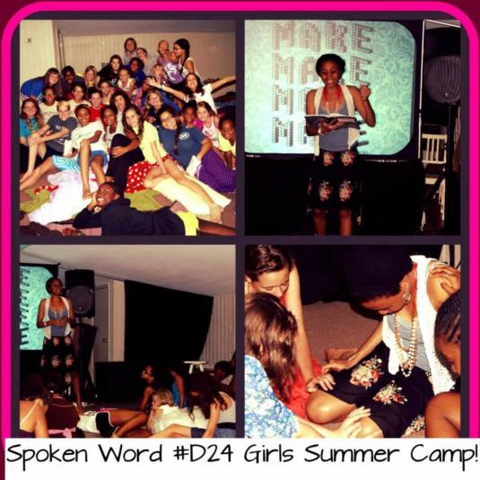 Camp Gideon Encouraging Message! to Inspire Young Girls!