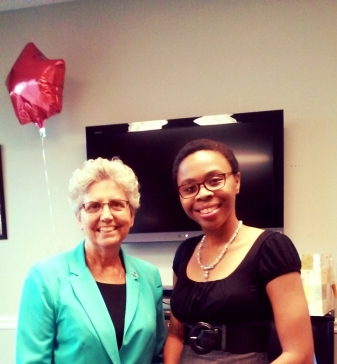 A Speaking Engagement with the Mayor of Lawrenceville- Judy Johnson